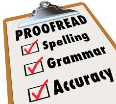 proofreading photo